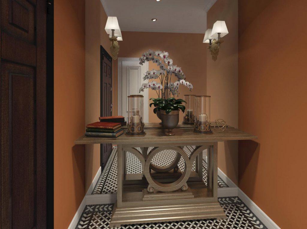 Прихожая Дизайн-проект квартиры в стиле Арт Деко